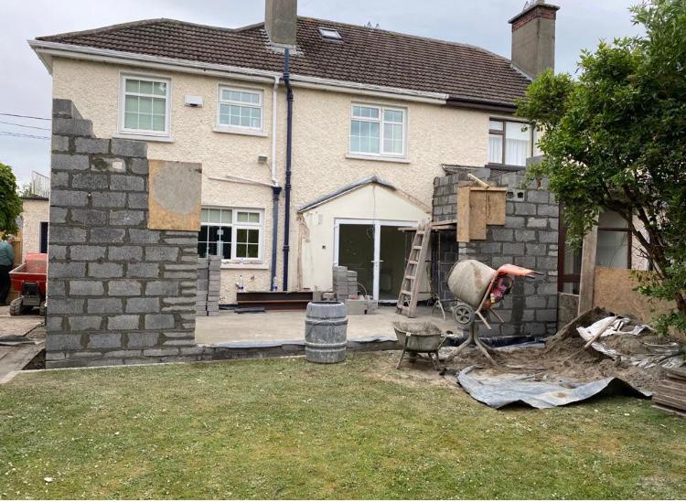 House extension, bathroom and utility in Dublin 16